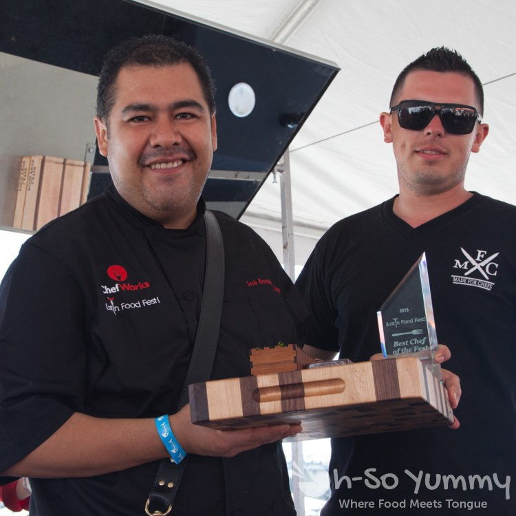 Chef José Bossuet Martínez (Lozhka) wins Best Chef at Latin Food Fest San Diego