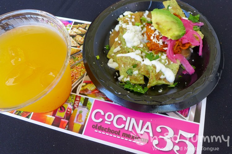 cocina 35 at latin food fest