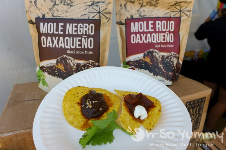 mole products at latin food fest