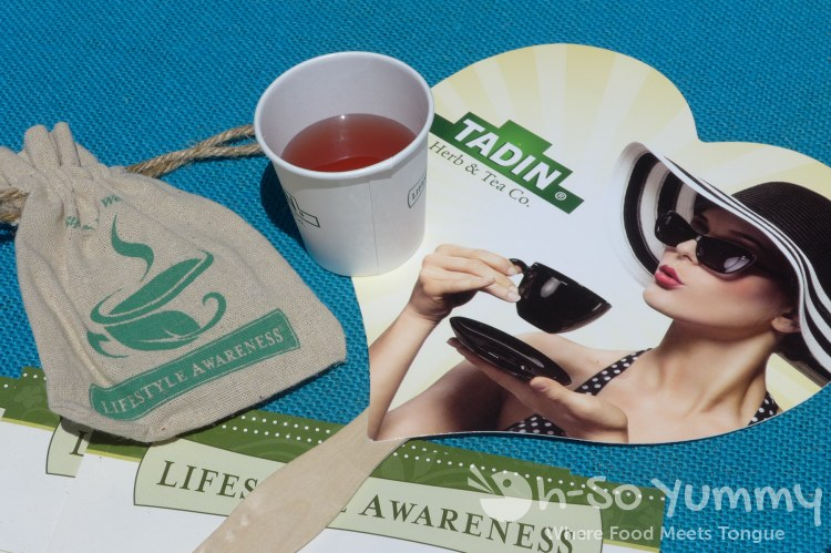 hibiscus cleanse from lifestyle awareness at latin food fest