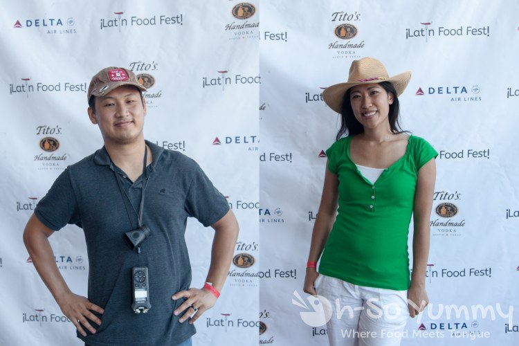 Oh So Yummy team on the red carpet at Latin Food Fest San Diego