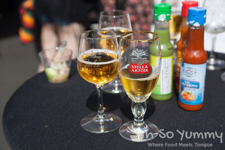 Stella Artois beer and cider at Latin Food Fest 2015 in Los Angeles
