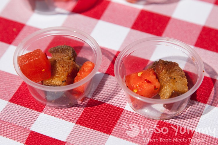 smoked fusion catering at Latin Food Fest 2015 in Los Angeles