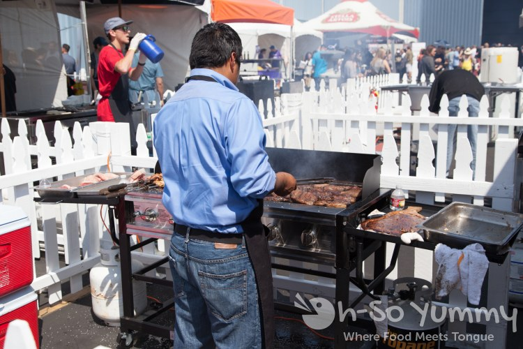 fogo de chao at Latin Food Fest 2015 in Los Angeles