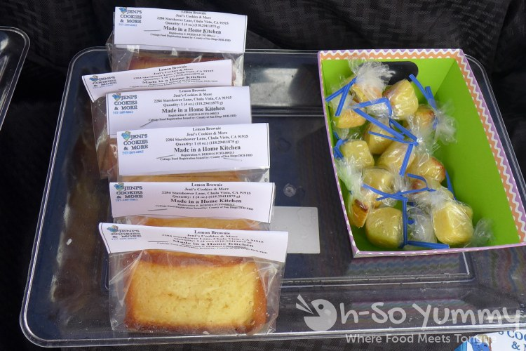 jeni's cookies and more at lemon zest and garlic festival 2015