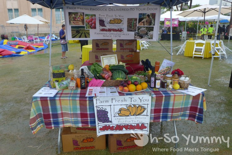 frseh farm to you at lemon zest and garlic festival 2015
