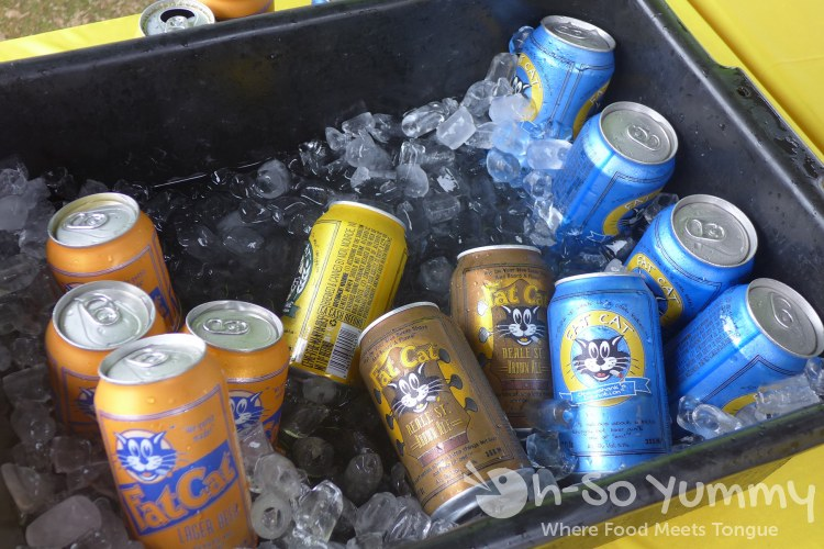 fat cat beer company at lemon zest and garlic festival 2015