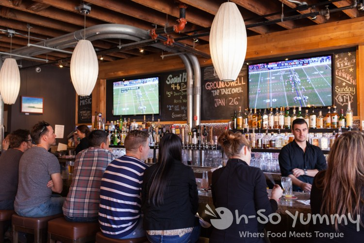 bar at Leroy's Kitchen and Lounge in Coronado