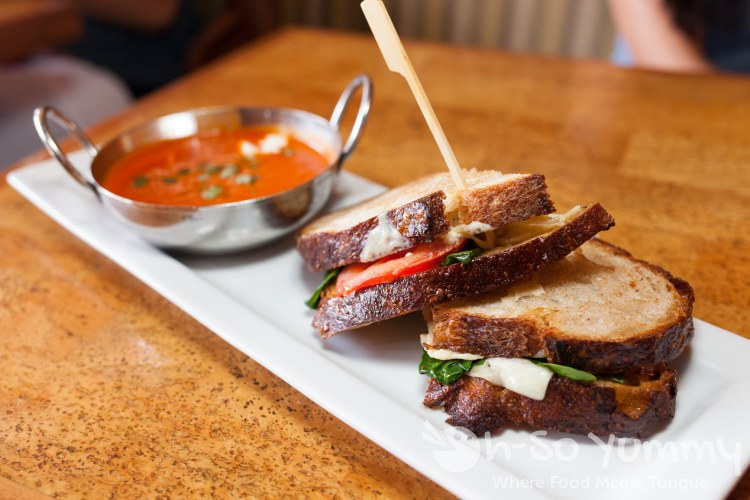 Truffled Grilled Cheese at Leroy's Kitchen and Lounge