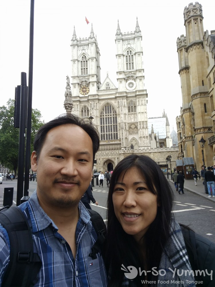 Westminster Abbey in London UK