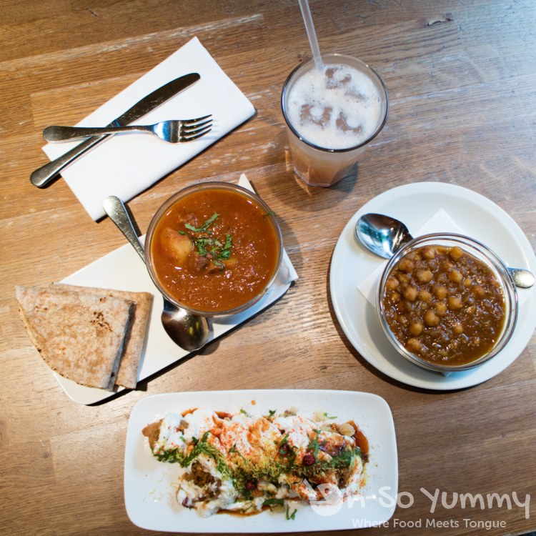 Kabli Chana, Railway Lamb and more at Roti Chai in London UK