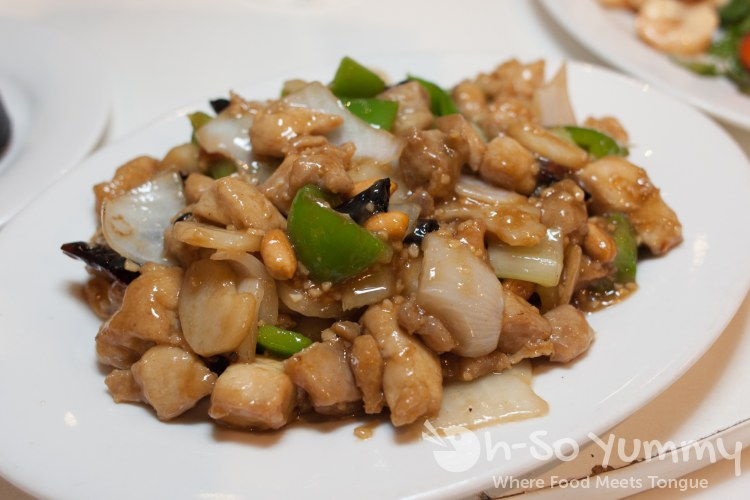 kung pao chicken at Ly's Garden in San Diego