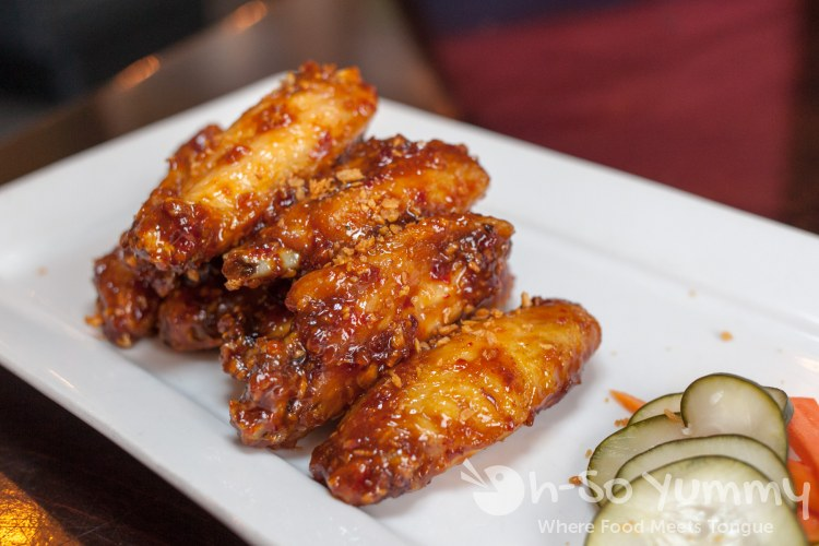 Vietnamese Sticky Wings at MRK Public