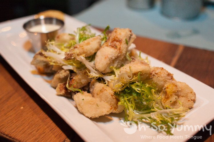 Crispy Artichoke Hearts at OB Warehouse in San Diego