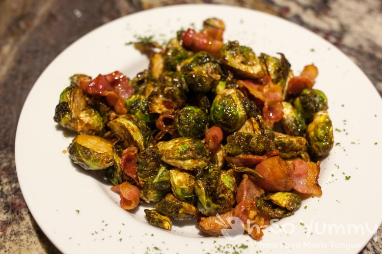brussels sprouts at Oscar Wilde in San Diego