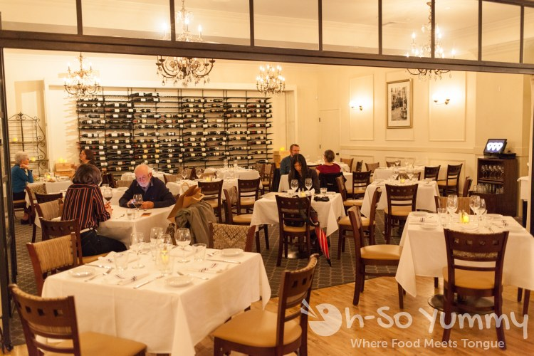 dining at Parc Bistro Brasserie