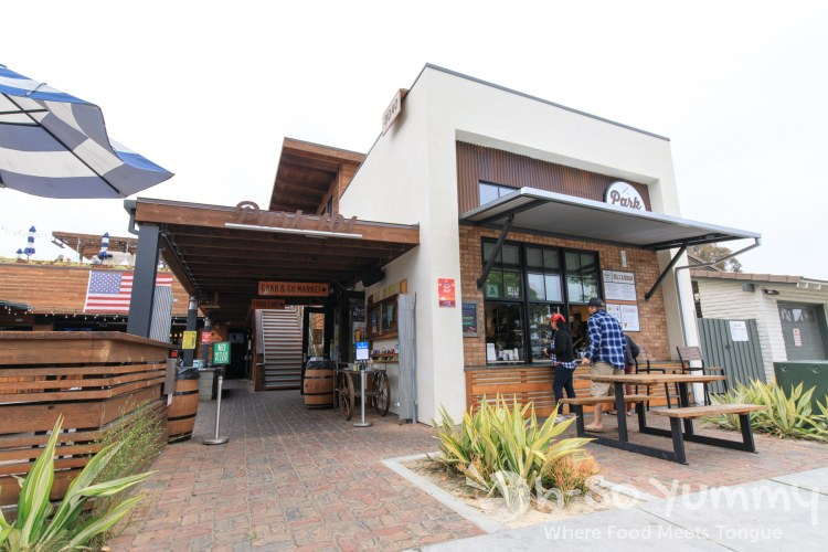 Park 101 serves barbecue as well as a Sunday brunch in Carlsbad CA
