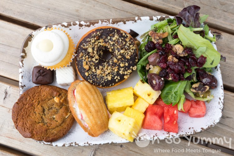 Salad And Desserts For Brunch At Park 101 In Carlsbad Ca