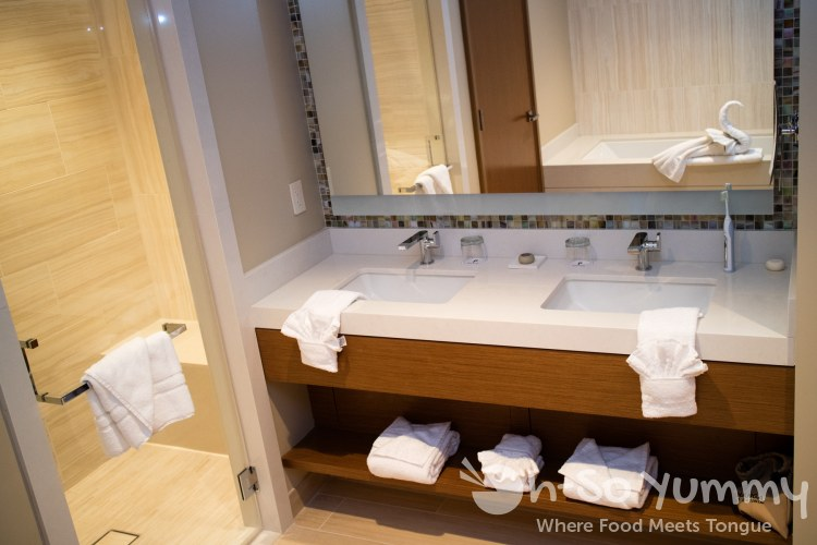 corner suite hotel room in the newest expansion of Pechanga Resort and Casino in Temecula
