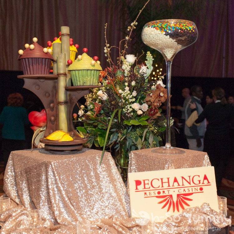 candy displays at pechanga chocolate decadence