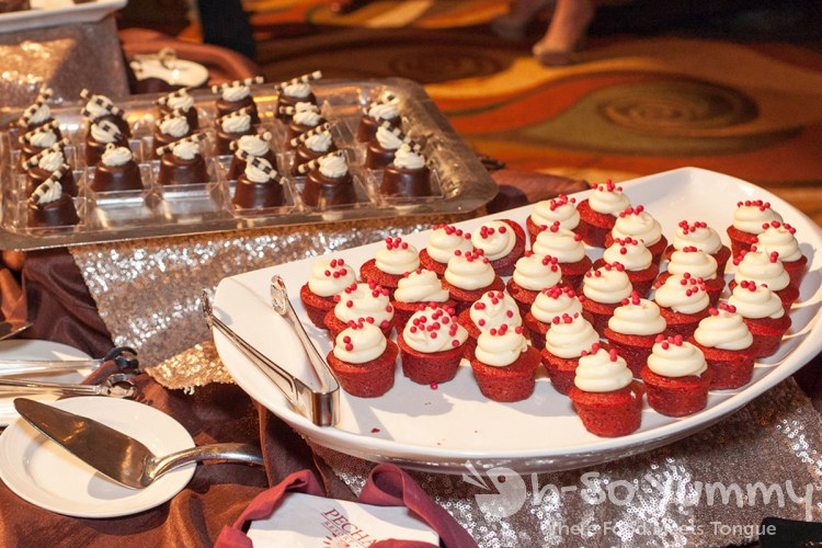 cupcakes at pechanga chocolate decadence