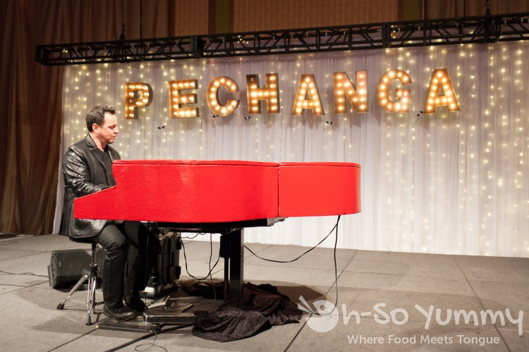 live piano entertainment at pechanga chocolate decadence