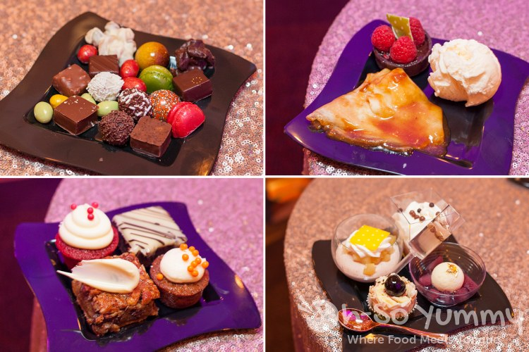 dessert samplers at pechanga chocolate decadence