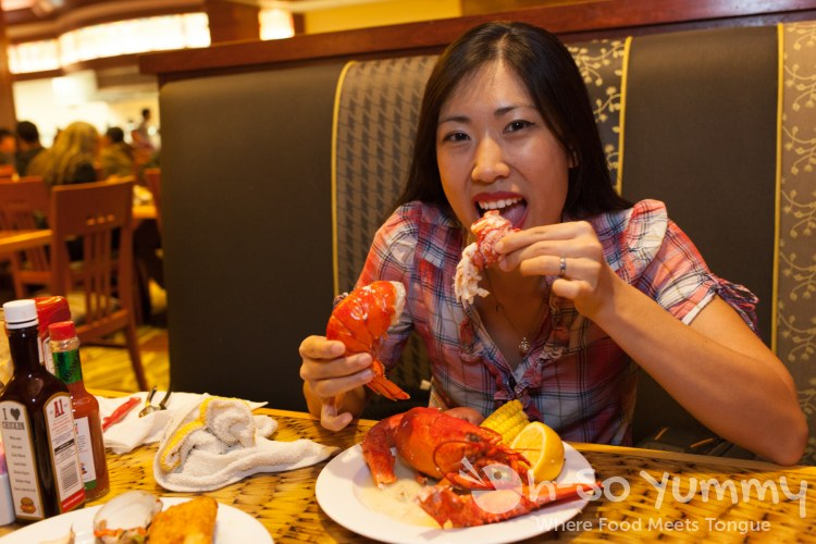 lobster seafood buffet at Pechanga Resort and Casino in Temecula