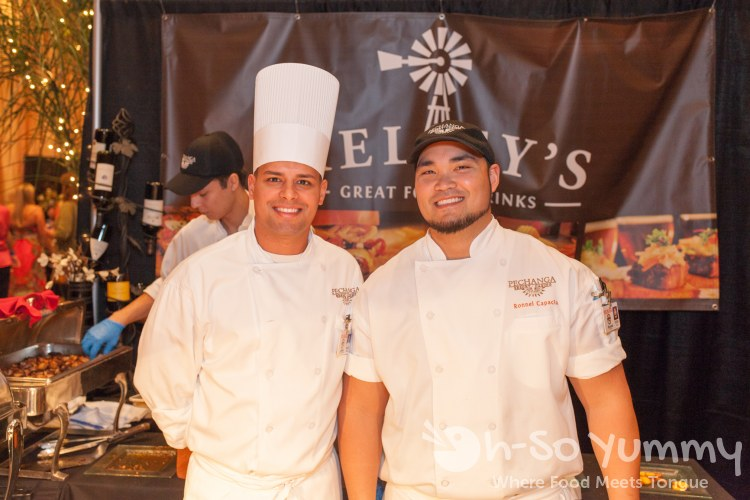 Chefs from Kelsey's at Pechanga Wine Festival