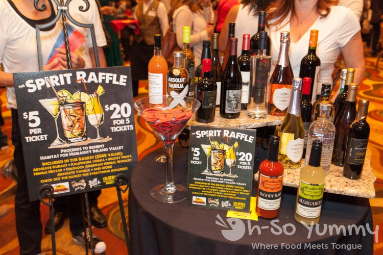 raffle at Pechanga Wine Festival