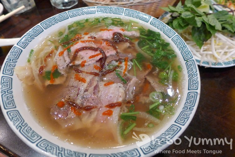 pho dac biet xe lua (extra large special pho) at Pho Ban Mai