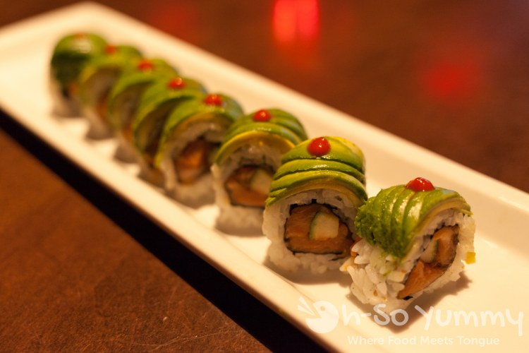 zonie roll at RA Sushi San Diego