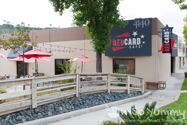 Red Card Cafe in San Diego California