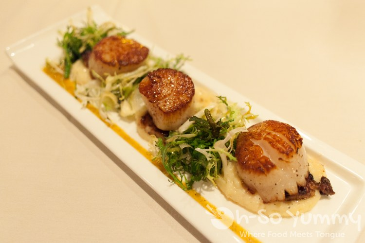 Roy's - Seared Sea Scallop