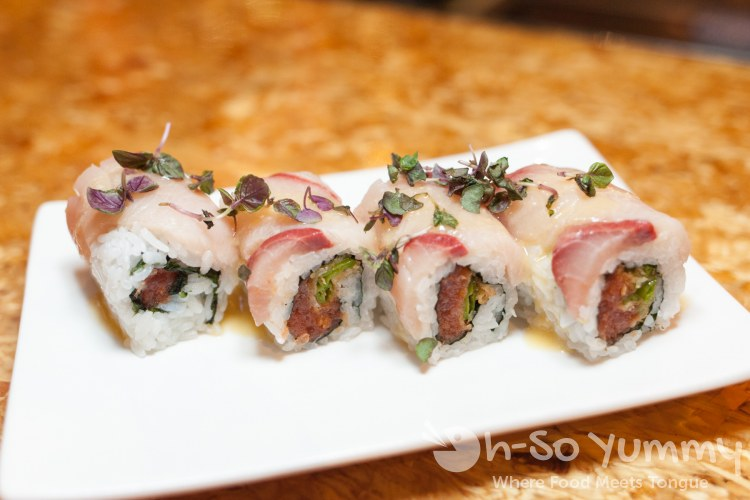 Fanfare Roll at Saiko Sushi in North Park