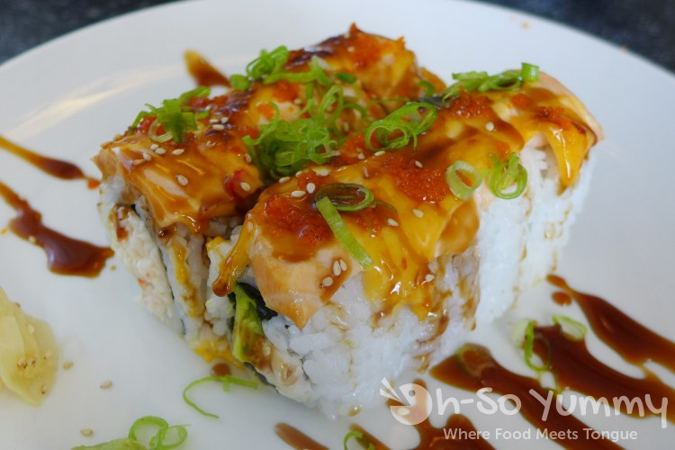 Santo Sushi - Baked Salmon Roll