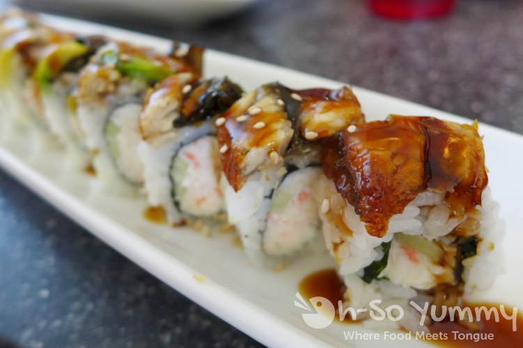 Santo Sushi - Dragon Roll