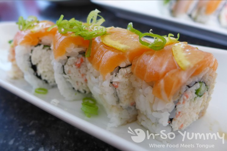 Santo Sushi - Lemon Roll