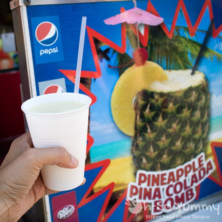 refreshing drink at San Diego Fair 2017 Where the West is Fun