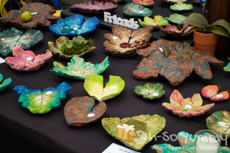 leaf artwork at San Diego Fair 2017 Where the West is Fun