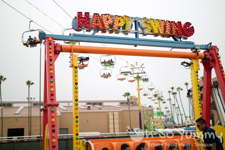 happy swing at San Diego Fair 2017 Where the West is Fun