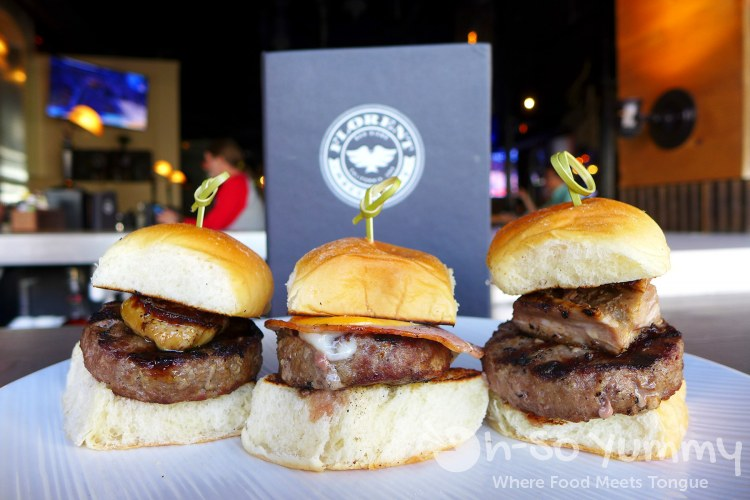 Sliders from Florent for San Diego Burger Week