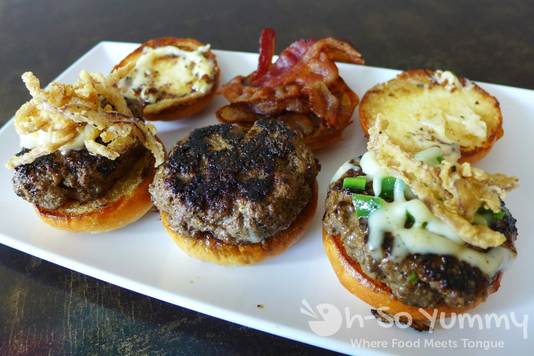 Sliders from Mish Mash for San Diego Burger Week