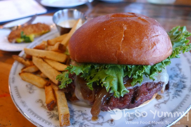 Burger from Waypoint Public for San Diego Burger Week 2016