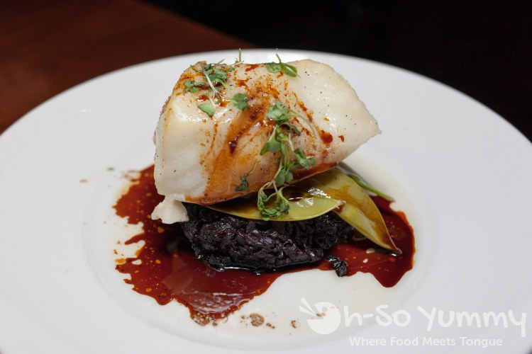 Asian-Glazed Chilean Seabass at Seasons 52