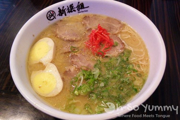 Hakata Ramen at Shin-Sen-Gumi in Fountain Valley CA