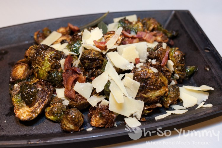 Crispy Brussel Sprouts at Slater's 50/50