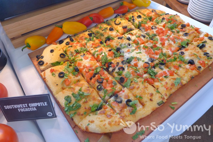 southwest chipotle focaccia at souplantation