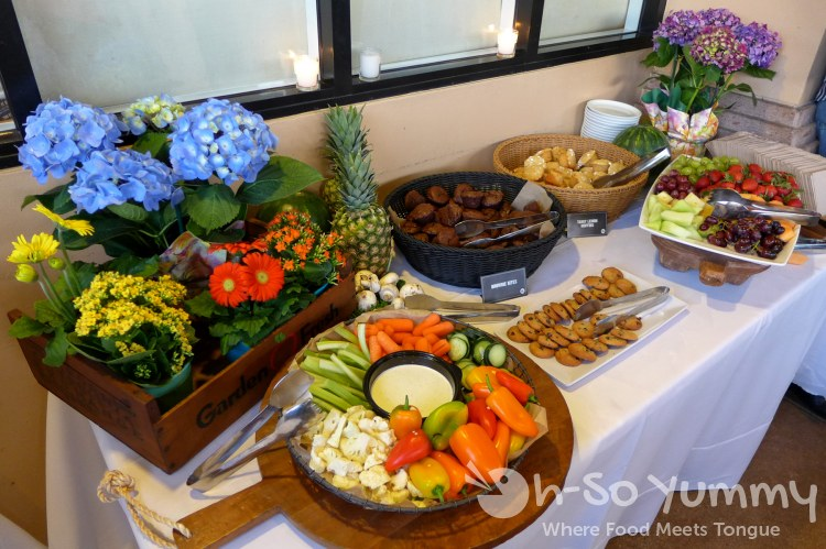 fruit and vegetables at the sixth annual farmer's summit for Souplantation in San Diego