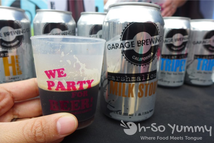 Garage Brewing at Tacos and Tequila Festival
